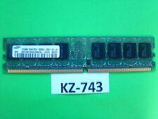 Samsung m378t6553bg0-ccc' 512 MB ddr2-ram 1rx8 pc2-3200u #kz-743