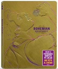 Bohemian Rhapsody Edition Steelbook (Blu-Ray) Biopic Freddie Mercury