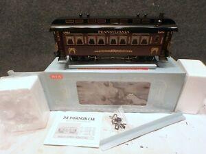 MINT IN BOX G SCALE Pennsylvania Railroad REA-31101 COACH NEVER USED NEW