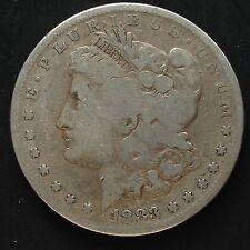 USA Morgan Dollar 1883 S San Francisco Silber Selten 3396