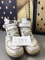 Nike Air Force 1 Mens White High Top Size 13 SKU#C797