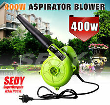 Portable Electric Blower Vacuum Garden Street Yard Leaf Blowing Cleaning Machine