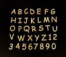 """50 Miniature Laser Cut Wood Letters Scrapbooking 1.0"""" Comic Sans Font 1 Inch"""