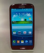 Samsung Galaxy S3 16GB Red AT&T Fair Condition