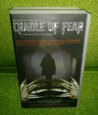 Cradle of Fear VHS rare horror Clamshell 2001 Cradle of Filth sov shot on video