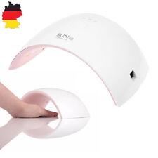 Nageltrockner LED 24W Nagellampe Lichthärtungsgerät UV Sensor Timer Rosa