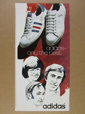 1972 Adidas Winner & Robert Haillet Tennis Shoes photo vintage print Ad