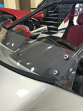 Clear Short Replacement Campagna T-Rex Wind Deflector - Fits All Years
