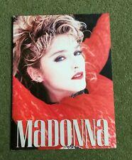 MADONNA USA THE VIRGIN TOUR PROGRAMME 1985 Boy Toy EX CONDITION Like First Album