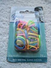 75 Goody Hot Neon Elastics Ouchless No Metal Small Elastic Hair Bands 2012 Poly