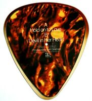 EX/EX GARY MOORE HOLD ON TO LOVE SHAPED VINYL PICTURE PIC DISC