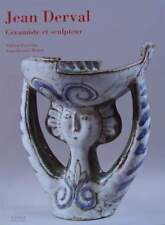 LIVRE/BOOK : JEAN DERVAL céramiste et sculpteur céramique années 50,60,vallauris