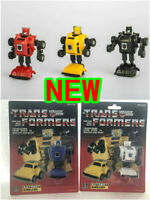 TRANSFORMERS G1 Reissue White Blue yellow black red Bumblebee brand new