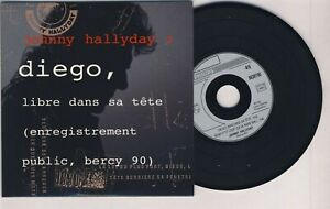 JOHNNY HALLYDAY ■ LIVE 1991 ■ DIEGO (PROMO 2 Titres )