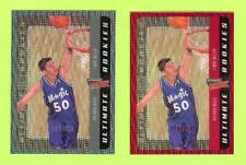 (2) 00-01 UPPER DECK ULTIMATE VICTORY COLLECTION MIKE MILLER ROOKIE - MAGIC