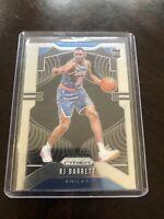 RJ BARRETT 2019-20 Panini PRIZM Basketball Rookie Base Card #250 Knicks RC 🔥