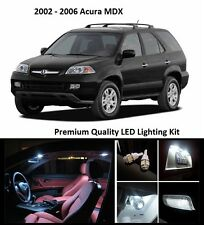 2002 - 2006 Acura MDX Premium White LED Interior Package (17 Pieces)