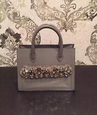 Gedebe Shopper Mini Handbag , Grey Color, #7022