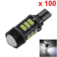 100x White Car T10 W5W Tail Bulb Clearance Lamp PCB 13 12x 5630 SMD + 1x COB LED