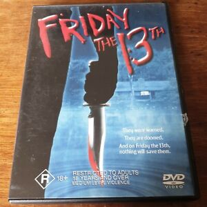 Friday the 13th DVD 2003 R4 VERY GOOD - FREE POST