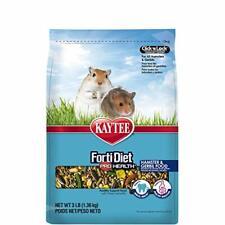 Kaytee Forti Diet Pro Health Hamster and Gerbil Food, Crunchy Treat, 3 Lbs