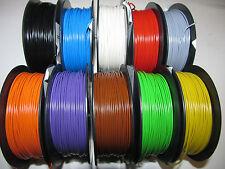 (0,1178 EUR/m) 50 m Kabel Litze Schaltlitze Kupferlitze 0,25 mm², freie Farbwahl