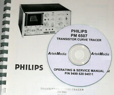 Philips PM6507 Curve Tracer Instruction Manual