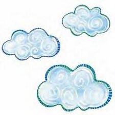 Fluffy Sky Swirl Clouds Wallies 25 Package Cloud White Decals Stickers Murals