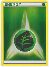 10x Pokemon Holo Foil Grass Energy Cards (set of 10)