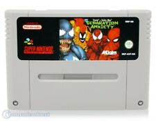 Nintendo SNES Spiel - Spider Man + Venom Spiel - Separation Anxiety Modul