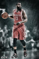 "092 NBA Super Stars - James Harden 14""x21"" Poster"