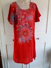 Vestidos de mujer Desigual color principal rojo