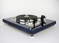 Restaurierter & Modifizierter Thorens TD 147 Plattenspieler Turntable dark blue