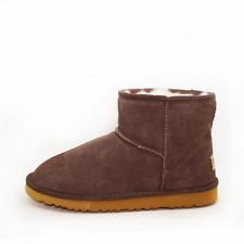 Unisex Ankle Ugg Boot Australian Sheepskin Water Resistant - Chocolate