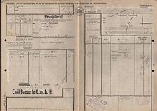 Frachtbrief 1934, Emil Baeuerle GmbH TUTTLINGEN nach NECKARHAUSEN