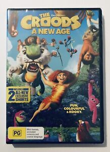 The Croods : A New Age DVD NEW & SEALED** PG Region 4 Aus Kids Animation Movie