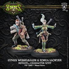 Lynus Wesselbaum & Edrea Lloryrr (PIP75065) Hordes: Minions New