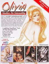 OLIVIA STUDIES IN SENSUALITY SET BY COMIC IMAGES IN 1995