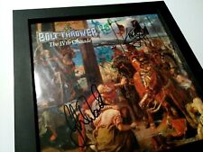 BOLT THROWER – The IVth Crusade – 1st press – FULLY SIGNED – ORIGINAL LINEUP!