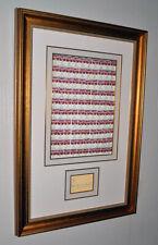 ANDY WARHOL SKETCH Signed Autograph, FRAME, 100 Soup Cans Art, Plaque, COA, UACC