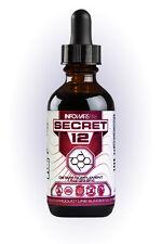 Secret 12 Infowars Life Vitamin B-12 Dietary Supplement 1 oz Bottle