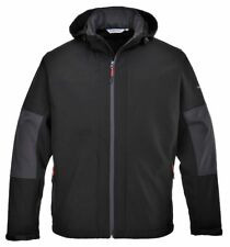 PORTWEST TK53 Softshell Jacket with Hood & Internal Pockets - Workwear Rainwear
