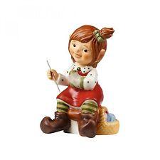 Goebel Im Nähstübchen Wichtel Figur Weihnachten Hummel Engel NEU
