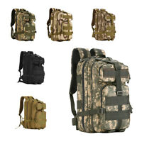 40L Molle Outdoor Military Tactical Bag Camping Hiking Trekking Backpack