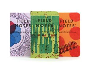 Field Notes Quarterly Edition: 'Letterpress' Type 'A' - Graph 3-Pack