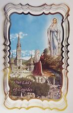 Our Lady of Lourdes Scalloped Prayer Card, from Lourdes New (3)