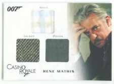 "RENE MATHIS ""TRIPLE COSTUME CARD TC04"" JAMES BOND IN MOTION"
