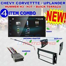 CORVETTE HUMMER H3 KENWOOD TOUCHSCREEN AM/FM BLUETOOTH USB CAR RADIO STEREO PKG