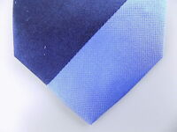"""KENNETH COLE $85 MEN Blue Striped Skinny WIDTH 3"""" NECK TIE SILK BLEND B06"""