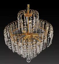 Design Crystal Chandelier Hanging Light Chandellier Ceiling Light Gold White